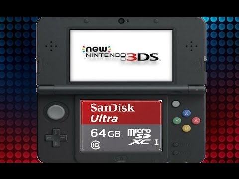 New 3DS XL Micro SD Card & Data Transfer (Tutorial)
