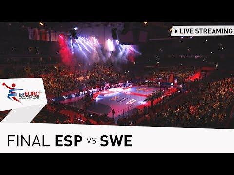 Men's EHF EURO 2018 Final | Spain vs Sweden | Live Stream | Throwback Thursday