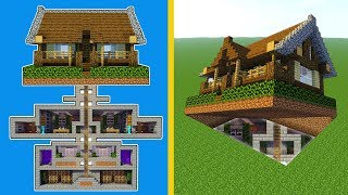 Minecraft How To Build A Large Modern House Tutorial 2018
