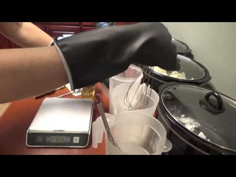 Making HP Crockpot Soap with Lye for Dry Skin and Eczema