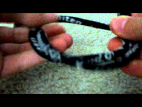 How to make a Phiten tornado bracelet