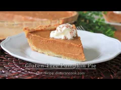 Bangin' Gluten-Free Pumpkin Pie w/ Gluten Free Pie Crust Recipe