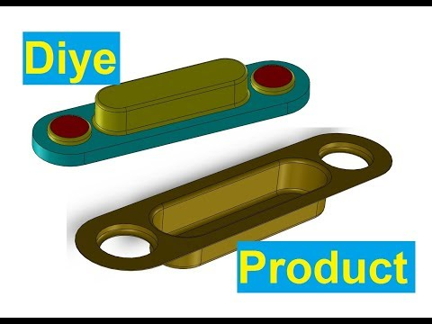 SolidWorks Tutorial Making Diye by using Sheet Metal Forming Tool