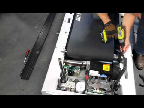 Star Trac Pro 7600 Treadmill Belt Replacement (Part 3)