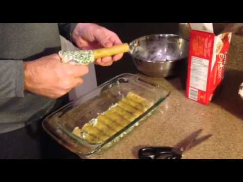 How to stuff cannelloni