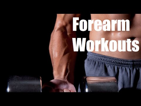 Top 3 Forearm Workouts for Mass