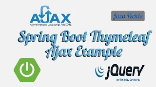 How to integrate JQuery Ajax POST GET & Spring Boot - PakVim