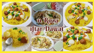 Iftar Dawat For My Sweet Family/Aj Banya Biryani & Zarda,2020