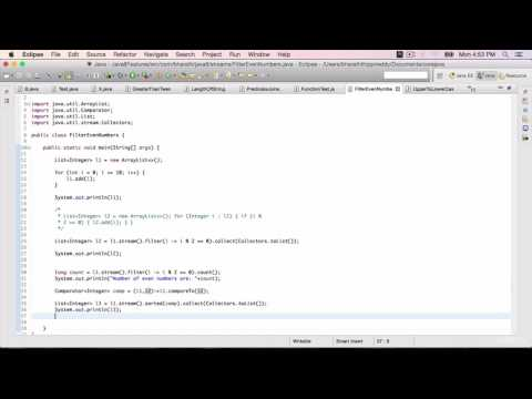 Java 8 Features Part 26 - Other methods on the Stream