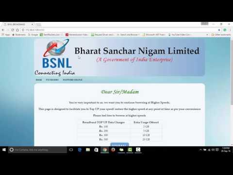 How to Know BSNL Broadband Usage Without Login