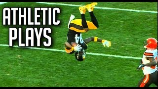 """NFL Best """"Athletic"""" Plays 