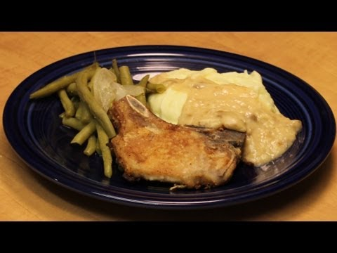 Fried Pork Chops with Gravy with Michael's Home Cooking
