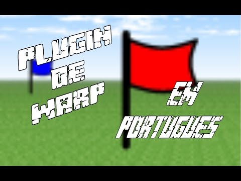 Mcpe-Plugin de Warp em Português [Pocketmine e Mc node]