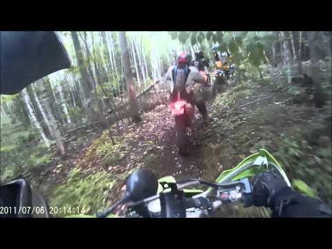 KDX dirt ride - Claudie rip