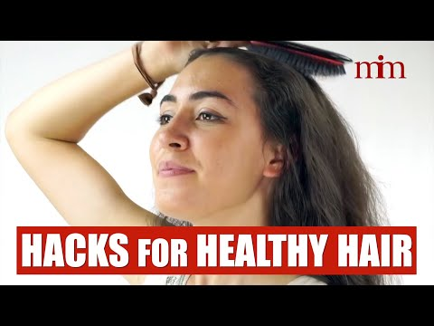 Healthy Hair with the Boar Bristle Brush