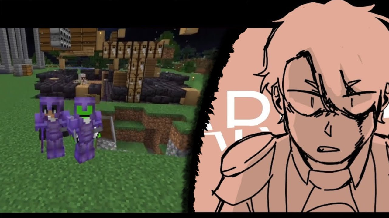 ACTUAL SCENES from  [Dream SMP War]  Animatic