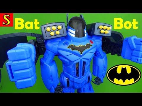Giant Batman Imaginext Bat Bot Xtreme DC Super Hero Toys Batman Play Set Best Toys Ever Fisher Price