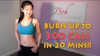 Burn Up To 300 Cals In 20 Mins High Intensity Fat Burning Workout