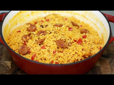 Chorizo and Rice Recipe - In The Kitchen With Jonny Episode 187