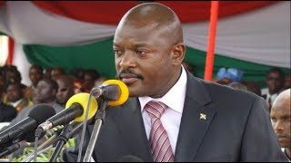 Mapokezi ya Rais wa Burundi Pierre Nkurunziza nchini Tanzania