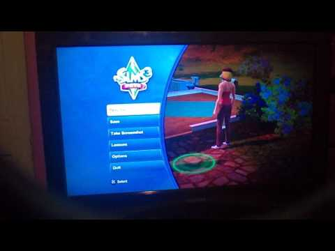 Sims 3 pets cheat PS3