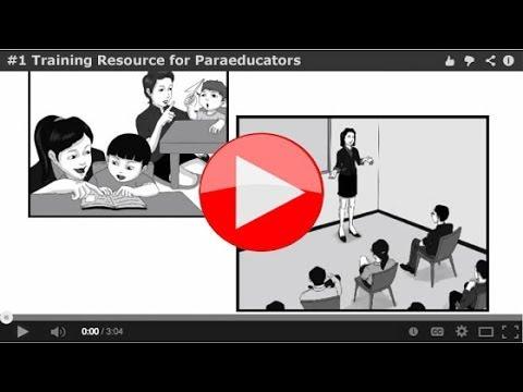 #1 Training Resource for Paraeducators