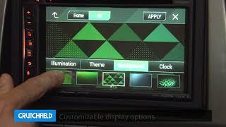 Pioneer AVIC-W6400NEX Display and Controls Demo   Crutchfield Video
