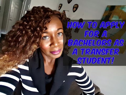 How To Apply To College As A Transfer Student!