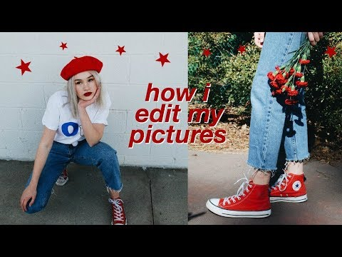 how i edit my instagram pictures & tips!