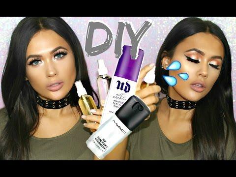 DIY: Dewy Makeup Setting Spray & Organic Toner