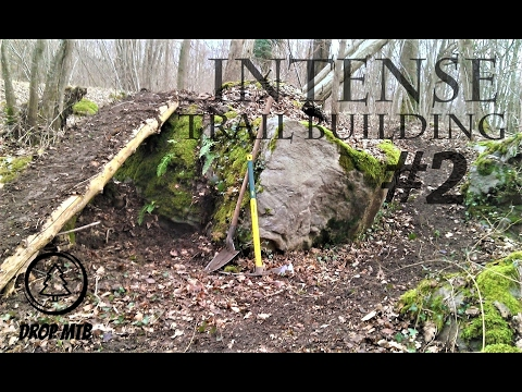 Berm, Drop & Bridge | Intense MTB Trail Building #02