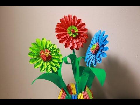 Home Decor origami Flower   Easy origami flowers for beginners
