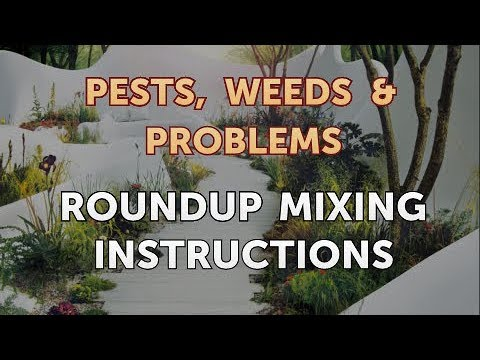 Roundup Mixing Instructions