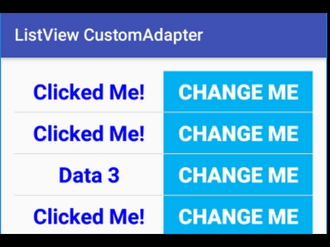 How to Make ListView with Custom Font color, size, TextView, Button using CustomAdapter