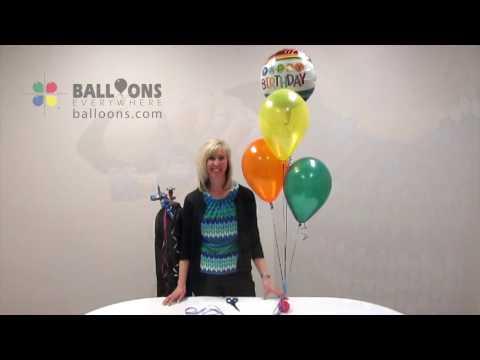 Balloon Basics:  Bouquet Assembly Tutorial