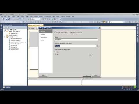 Creating Reports with SSRS 2012 Tutorial: Placing two Subreports onto One | packtpub.com