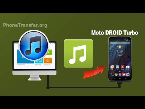 How to Transfer Music/Playlist from iTunes to Moto DROID Turbo 2 With Ease