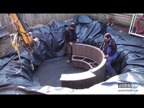 Building a Lotus Natural Mineral Spa