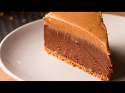No-Bake Chocolate Peanut Butter Cheesecake