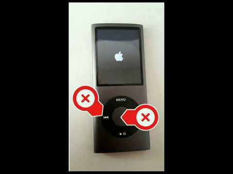 iPod Nano 4g completely shut off power
