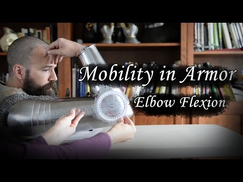 Armor Mobility - Elbow Flexion in Different Armor Configurations