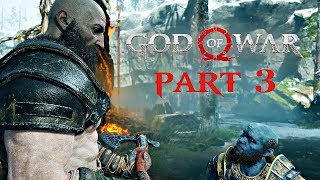 God Of War Walkthrough Part 3 - The Path To The Mountain | Ps4 Pro Gameplay