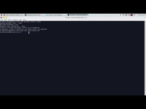 Cara Install dan Konfigurasi FTP Server di Ubuntu dengan menggunakan Aplikasi VSFTPD