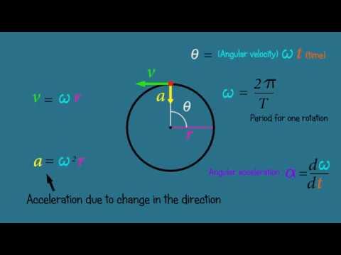 Circular motion -  Physics functions