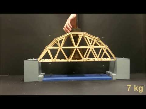 ULTIMATE Bridge Constructions - truss Bridges (break test) - How to build popsicle / icecream sticks