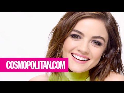 Lucy Hale's Hashtag Smokey Eye Trick | Cosmopolitan