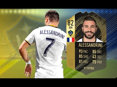 FIFA 18 - INFORM ROMAIN ALESSANDRINI PLAYER REVIEW - WHAT A BEAST!