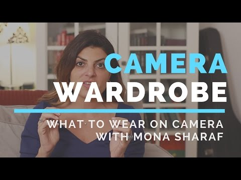 What to Wear on Camera- Featuring Image Consultant Mona Sharaf