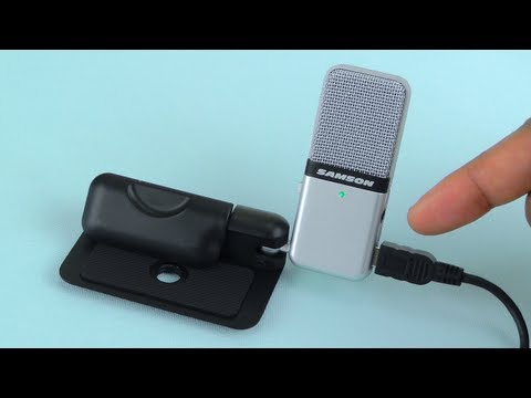 Samson Go Mic Compact USB Microphone Sound Test and Review - Plug n' Play