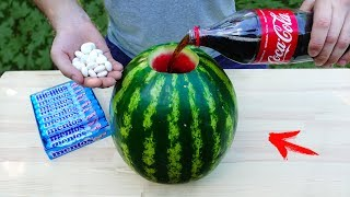 Download EXPERIMENT: Will Watermelon Explode ? Video